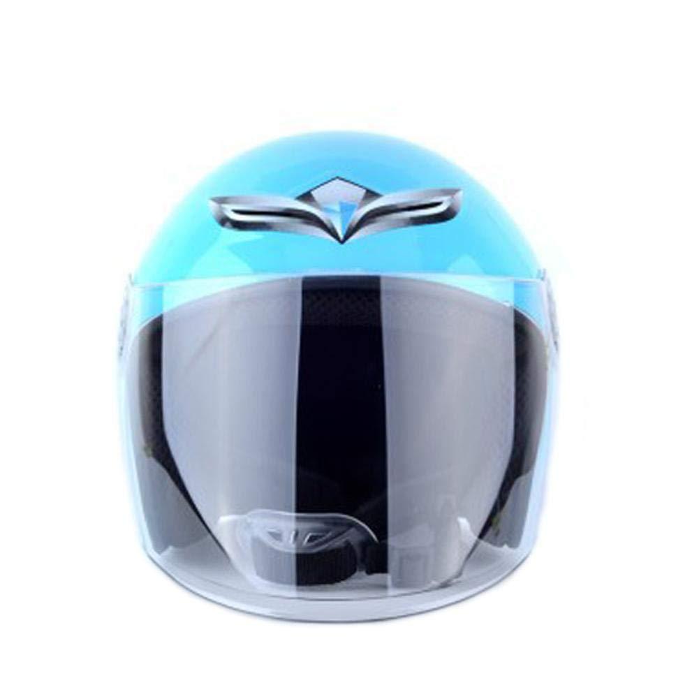 Welltobuy Casco Ajustable de ventilació n de Resistencia de Impacto de Medio Casco para niñ os con Parasol para niñ os Ciclismo Montar