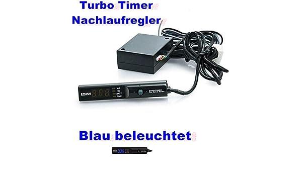 Turbo Turbo temporizador de luz azul Turbo regulador Turbo Seguimiento regulador turbonach unidad regulador JDM Tuning Drift reacing: Amazon.es: Coche y ...