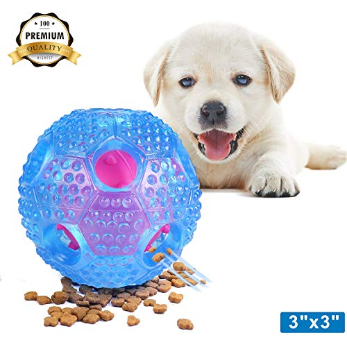 VECELA Dog Toy Chewing Ball for Pet, Teeth Cleaning, Playing...