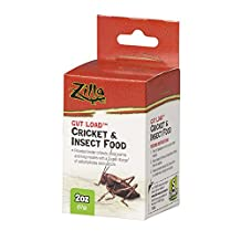 Zilla 11890 Gut Load Cricket and Insect Food, 2-Ounce Bottle