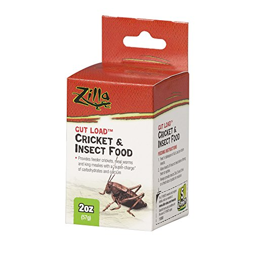 Zilla Reptile Cricket Insect 2 Ounce