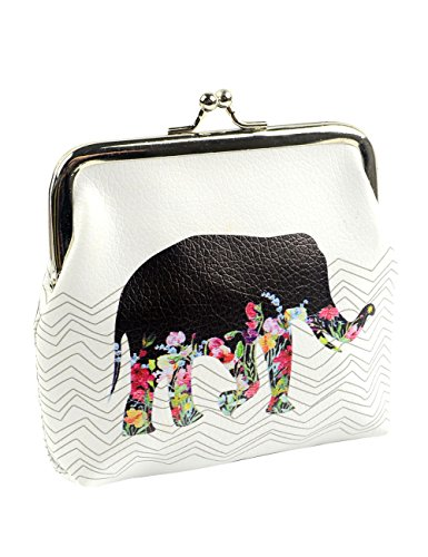 POPUCT Women's Cute Buckle Coin Purse(B)
