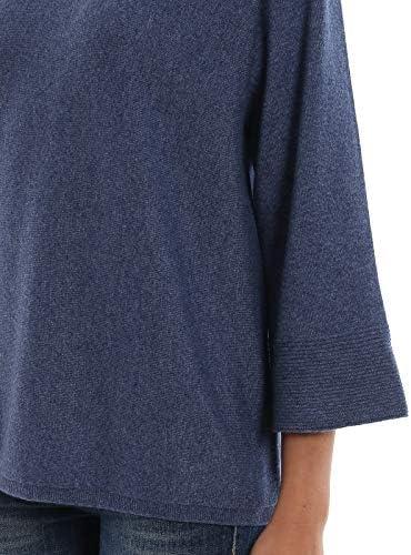 PAOLO FIORILLO Luxury Fashion Donna 5423812847570 Blu Cashmere Maglione | Autunno-Inverno 19