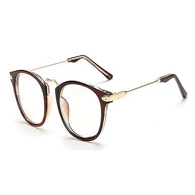 Hzjundasi Mode Coloré Cru Femme Lunettes de soleil Métal Cadre Miroir Oeil de chat Lunettes Lentille Claire Des lunettes de soleil bAh4LoaSs