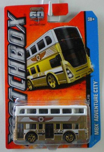 2013 Matchbox MBX Adventure City 1/120 - Two-Story Bus