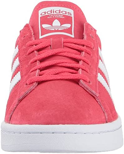 adidas Originals Women's Campus W Sneaker, Core Pink Crystal White, (9.5 Medium US)