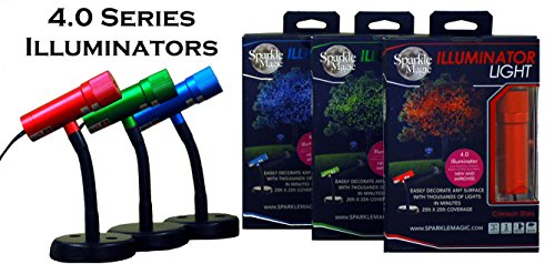 Sparkle Magic Illuminator 4.0 Series 3 Light Set Red, Green, Blue with 3 Way Connector & Extension Cable by Sparkle Magic (Image #4)