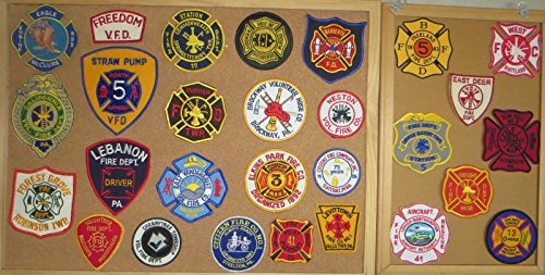 PENNSYLVANIA FIRE/RESCUE DEPARTMENT PATCHES! SET SIX! LOT OF 28!