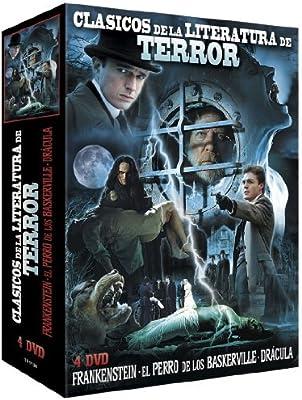 Pack Clásicos De La Literatura De Terror / Classic Horror Literature Collection 3 Films - 4-DVD Box Set Frankenstein / The Hound of the Baskervilles / Dracula: Amazon.es: Alec Newman, Julie Delpy,