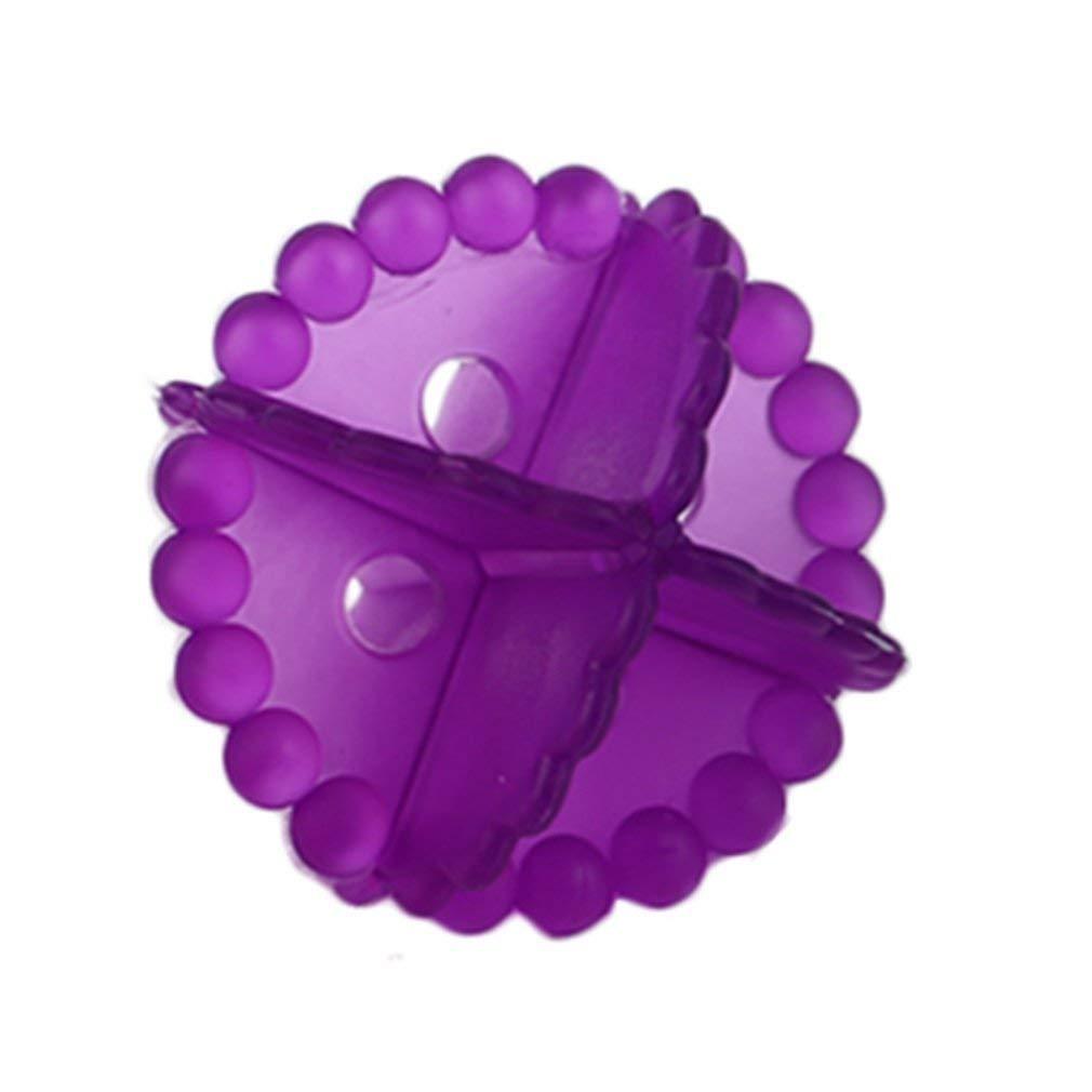 Garciasia La eliminaci/ón Bola de Lavado Magic Hair Ropa Sujetador Personal Care Clean Lavadora Bola de Limpieza con Herramienta de Bola