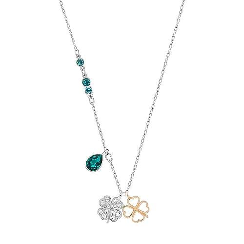 93b006bc6 Swarovski Duo Clover Pendant: Amazon.ca: Jewelry