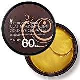 Collagen Under Eye Patches, 60PCS Eye Masks with Gold and Snail, Eye Treatment Masks for Puffy Eyes, Eye Patches Lightens Dark Circles, Under Eye Bags, Puffiness, Anti Wrinkle, Moisturizing (60 ea)