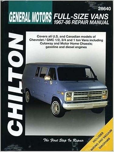 Chevrolet vans 1967 86 haynes repair manuals chilton chevrolet vans 1967 86 haynes repair manuals 1st edition fandeluxe Images