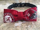 Alabama Dog Bow Tie #2