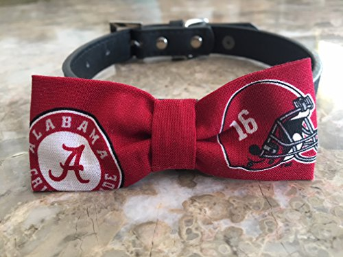 Alabama Dog Bow Tie #2 by Creations by Glo