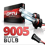 99 s10 blue hid - OPT7 Blitz 9005 Replacement HID Bulbs Pair [8000K Ice Blue] Xenon Light