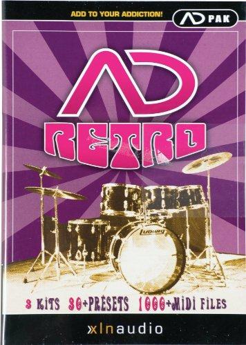 XLN Audio adpak Retro for Addictive Drums