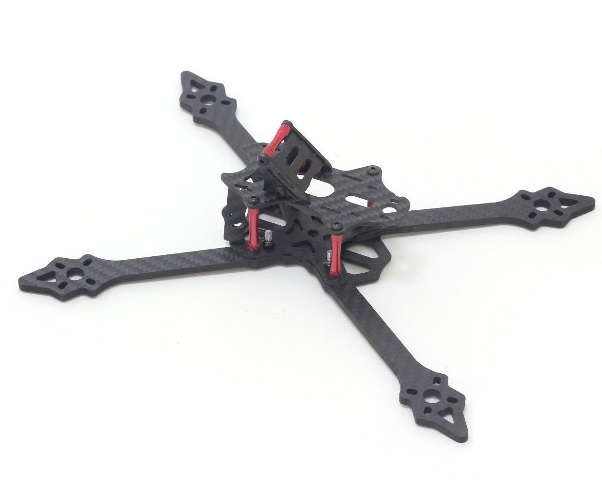 usmile 2pcs of 5mm Carbon Fiber Arms for XSU220 Frame