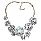 KTYX European and American Flowers Short Necklace Personality Wild 50+6.57cm Jewelry