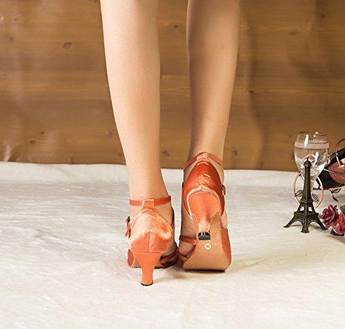Minitoo ,  Damen Tanzschuhe , braun - braun - Größe: 35