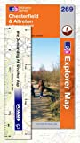 Explorer Map 269: Chesterfield & Alfreton by Ordnance Survey front cover
