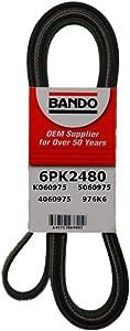 Bando 6PK2480 OEM Quality Serpentine Belt