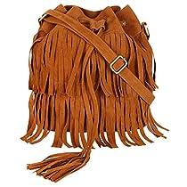 Lychee Bags Women's Tan PU Jennifer Slin