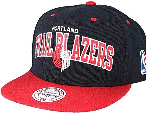 Blazers Tone Trail Portland NA80Z amp; Ness Red Snapback 2 Team Arch Mitchell Cap NBA Black wSAqHIxn
