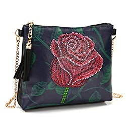 Women Cross-Body Roses Diamond Painting Bag