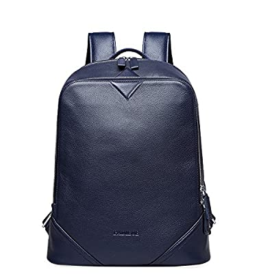 9477bfc30d3c outlet Leather Backpack, PADIEOE Laptop Backpack, Vintage Leather ...