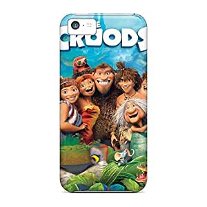 PhilHolmes Iphone 5c Protector Cell-phone Hard Covers Unique Design HD The Croods Pictures [DCI2819RhyW]