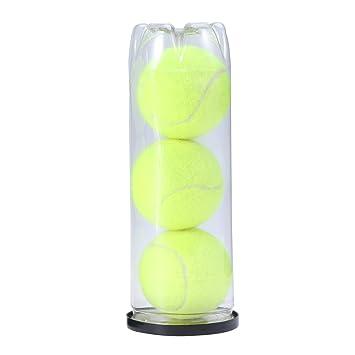 VORCOOL 3pcs Pelotas de Tenis Pueden Practicar Pelotas de Tenis Campeonato de Servicio Regular de Pelotas de Tenis Perros de Compañía Pelotas de Tenis ...
