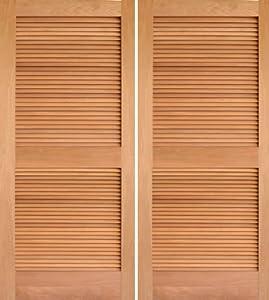 Interior Door Mahogany Louver Double - AAW Doors Inc.  sc 1 st  Amazon.com & Interior Door Mahogany Louver Double - AAW Doors Inc. - - Amazon.com pezcame.com