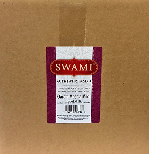 Swami Garam Masala(Mild) 25lb by Spicemart by Swami