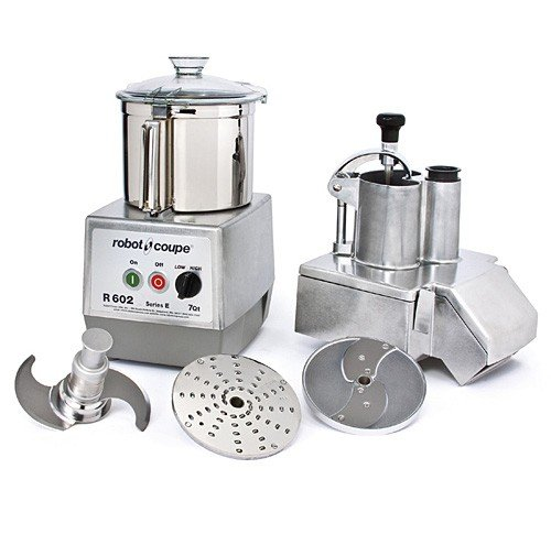 Robot Coupe R602N Food Processor with Continuous Feed and Bowl by Robot Coupe