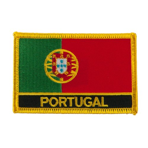 New Europe Flag Embroidered Patch - Portugal OSFM
