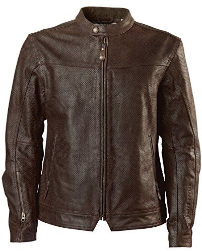 Roland Sands Design Walker Brown Leather Perforated Jacket Large (More Size Options)