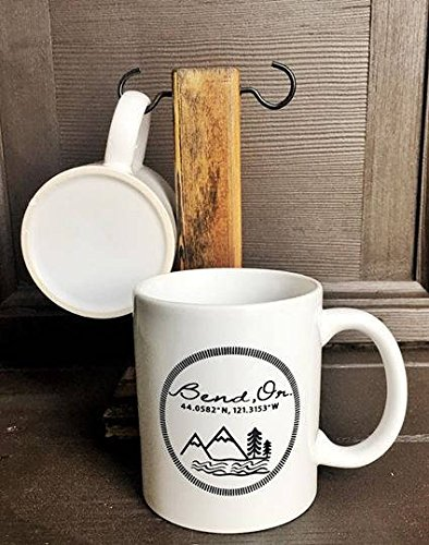 LIZNICE - Bend Oregon coffee mug, MUG - Oregon Shopping Bend In