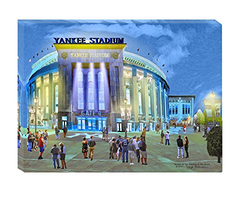 Yankee Stadium At Night, Art For A Boy's - At Stores Gallery The