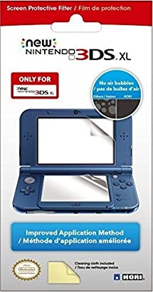 hori screen protective filter for nintendo new 3ds xl nintendo 3ds video games. Black Bedroom Furniture Sets. Home Design Ideas