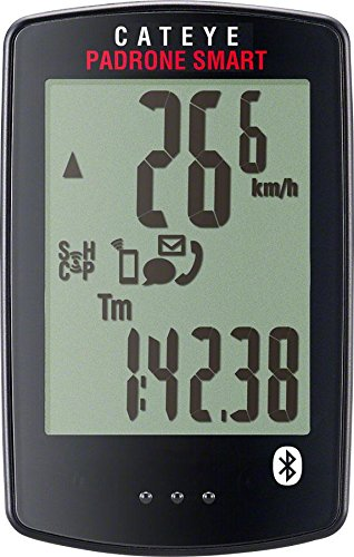 CAT EYE 1604220 Padrone Smart Wireless Bike Computer, One Size, Double