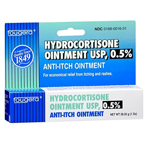 Hydrocortisone anal itching