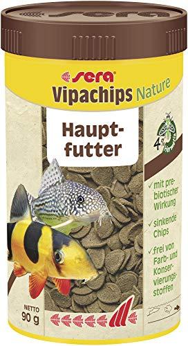 Sera Comida Sumergible para Peces de Acuario Vipachips