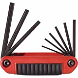 Ergo-Fold Hex Key Sets, 9 per set, Hex Tip, Inch, Medium Handle (28 Pack)