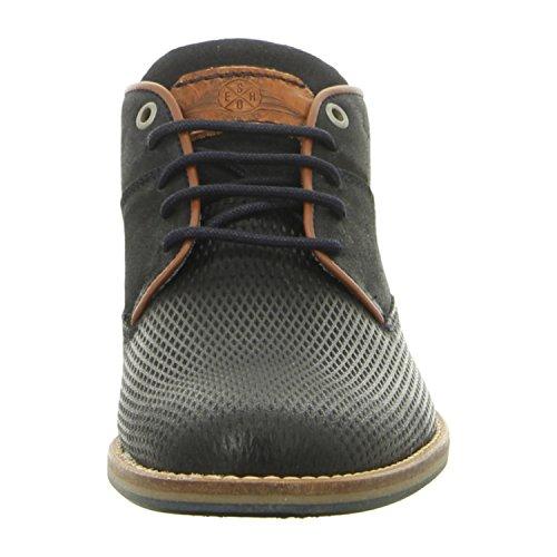 BULLBOXER 773k55951cpnna - Zapatos de cordones de Piel para hombre pnna