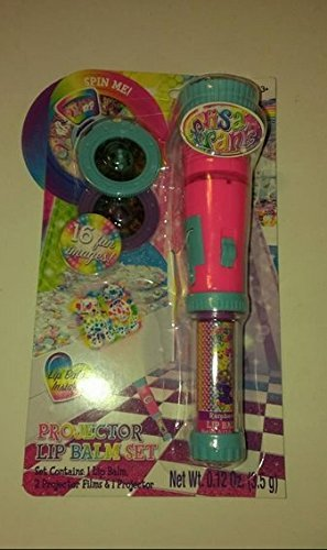 Amazon.com: Lisa Frank Projector Lip Balm Set of 5 Party Favor Gifts Groovy Toy: Toys & Games