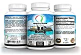 B6 Pyridoxine 50mg B-6 Vitamin Supplement 100 Tablets Supports Healthy Energy Metabolism Blood Vessels Nerves
