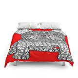 Society6 For The Love 1 - French Bulldog Comforters King: 104'' x 88''