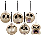 Disney Nightmare Before Christmas Faces of Jack Skellington Ornament Collection