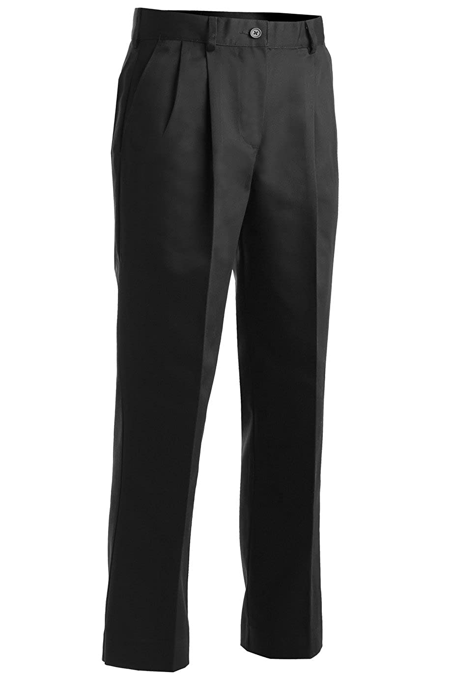 Ed Garments Women's Utility Pleated Pant, Black, 12 28 8667